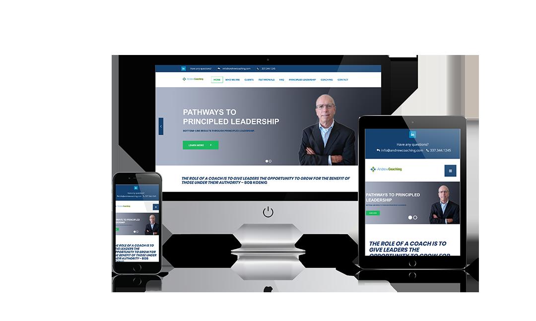 Andrew Coaching Website