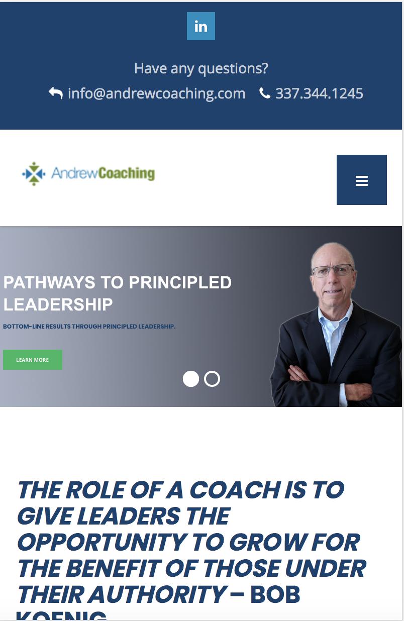 Andrew Coaching