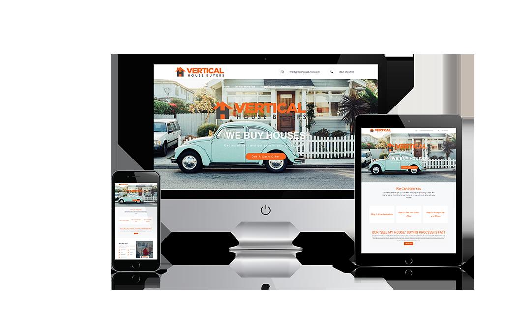 Vertical House Buyers Website